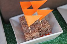 Easy food for sports birthday party