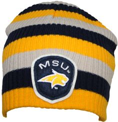 MSU Bobcats Beanie, Navy Gold and Vegas Gold, Montana State University, Navy Gold, Vegas, Beanie, Game, Gaming, Beanies, Toy, Games