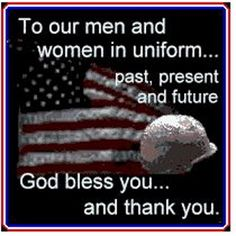 honoring our troops | God bless all of our defending men and women standing tall and ...