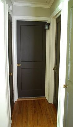 dark doors in the house. . Especially when you have a lot of doors close to gather