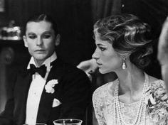 Helmut Berger and Charlotte Rampling in The Damned by Luchino Visconti, 1969.
