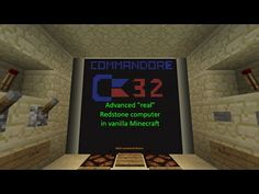 Commandore 32: A revolution in Minecraft computers (trailer) - YouTube