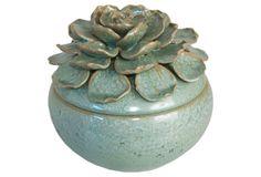 Floral Ceramic Box
