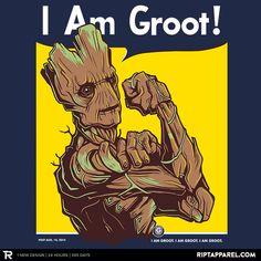 Ript -- I am Groot.