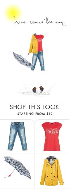 """Though April showers may come your way, they bring the flowers that bloom in May"" by idocoffee ❤ liked on Polyvore featuring Sans Souci, Totes, Joules and Sperry"