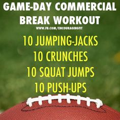 Are you a couch potato? Make the most of your t.v shows by doing these 3 minute workouts during the commercial breaks. You'll get in shape while enjoying your show! #fitspo  #homeworkout