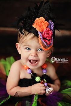 Mini Witch Hat By Just Be Happy Crochet   http://www.justbehappycrochet.com/product/mini-witch-hat