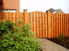 Wood Privacy Fencing « Dixie Fence (423) 453-8060