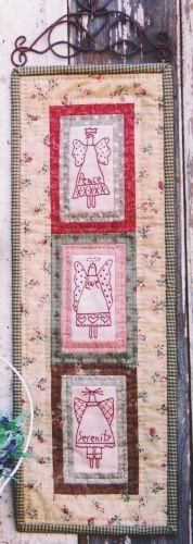 Projeto Hatched and Patched - Angels of Harmony - Projetos « True Friends | Quilt | Patchwork | Patchcolagem | Tecidos Importados