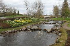Spring in Oulu, Finland