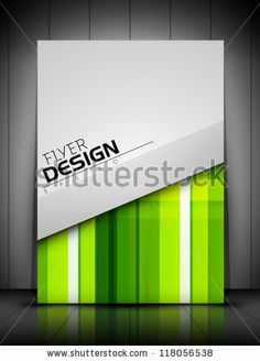 Professional business flyer template or corporate banner design, can be use for publishing, print and presentation. EPS 10. by Allies Intera...