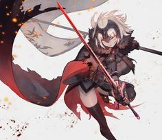 Safebooru is a anime and manga picture search engine, images are being updated hourly. Fate Zero, Character Inspiration, Character Art, Character Design, Art Anime, Manga Anime, Fantasy, Fate Jeanne Alter, Desu Desu