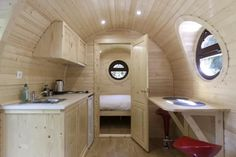 This is a Barrel tiny house vacation near Paris, France. It's a travel trailer built in the shape of an oversized barrel. Infrared Sauna Benefits, Barrel Sauna, Finnish Sauna, Grey Bar, Tiny House Listings, Tiny Houses For Sale, Rental Apartments, Small Spaces, Living Spaces