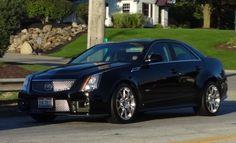 2009 2nd Generation Cadillac CTS-V Sedan with GM-LSA 6.2L V8 Engine