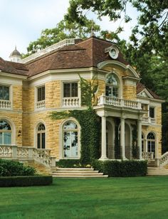 I have an obsession with yellow houses; this is gorg!!!!    #Yellow House