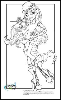Monster High Coloring Pages | Coloring99.com