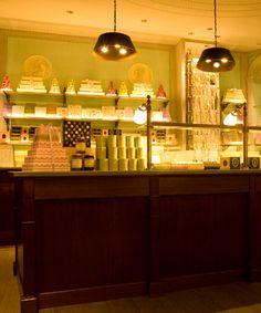 Ladurée Shop on 864 Madison Avenue - fantastic macaroons. Pricey, tho.