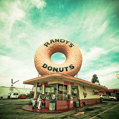 Randy's Donuts  #los angeles