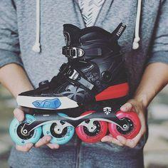Hand made Drift X NMD #inlineskate #rollerskate #freeskate #Flyingeagle #skater #slalom