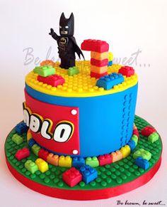 Be brown, be sweet: Tarta Lego-Batman Smoothie Prep, Raspberry Smoothie, Apple Smoothies, 5th Birthday Cake, Lego Birthday, Rice Krispies, Lego Torte, Lego Batman Cakes, Legos