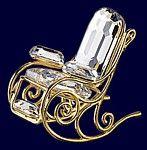 Swarovski Crystal Rocking Chair.