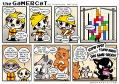 the GaMERCaT :: Block by Block | Tapastic Comics - image 1