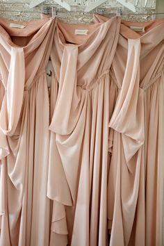 What do you guys think about pink champagne colored bridesmaid dresses?