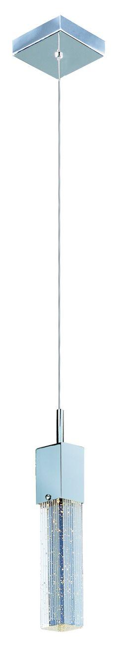 Collection: Fizz III, Width/Diameter: Height: Overall Length: Lamp: bulb(s), - Desc: / / / Ceiling Fixtures, Ceiling Lights, One Light, Light Led, Mini Pendant, Chrome Finish, Kitchen Lighting, Polished Chrome, Bubbles