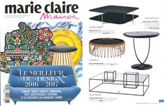 We are pleased to see the coffee table ILLUSIONI by Mogg / Design by Sebastiano Tosi on the French Magazine Marie Claire Maison in the September Edition…and it is not the only Mogg's Design Object…  http://www.mogg.it/Prodotti/Table/ILLUSIONI/  #mogg #moggdesign #illusioni #SebastianoTosi #coffeeetable #interior #design #interiordesign #italian #furniture #italianfurniture #homedecor #marieclairemaison #magazine