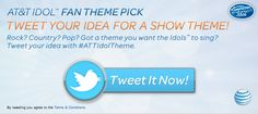 Sponsored Hashtag Lets American Idol Fans Tweet To Pick Show's Theme