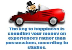 """0 Likes, 1 Comments - Sant Mali (@santmali) on Instagram: """"Key to happiness... The key to happiness is spending your money on experiences rather than…"""""""