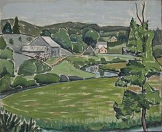 Dalesville | MNBAQ -- John Lyman, 1914. This is the area my grandmother is from, and painted the year she was born! Matisse, Golf Courses, Pretty, Painting, Landscape Planner, Fine Art Paintings, Artists, Paint, Henri Matisse