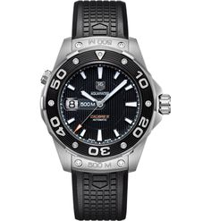 b7fa2a5e197 TAG HEUER AQUARACER MENS WATCH WAJ2118.FT6015 Tag Heuer Aquaracer  Automatic