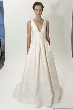 romantic summer dresses dusto rose | Lela Rose Bridal Spring summer 2015,lela rose wedding dress 2015 ...