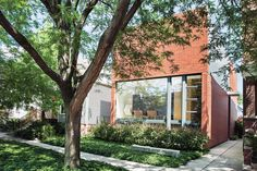 A Brick-Clad Modern Family Home in Chicago | Dwell