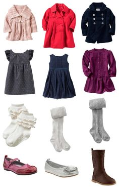 Outfits for little girls for winter photo sessions | Cat Mayer Studio