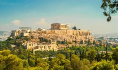 Greece Tours - Travel Mediterranean in Greece with fully guided holiday packages from Hi Tours. Explore Mediterranean most famous tourism destinations with Greece holiday packages from India all inclusive at discounted prices, hitours. Greece Tours, Greece Travel, Athens City, Sites Touristiques, Greece Holiday, Parthenon, Beautiful Sites, Beautiful Places, Best Cities