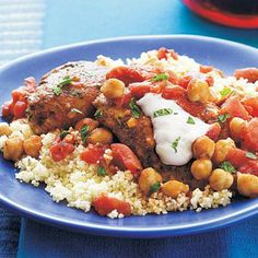 Chicken Tagine | CookingLight.com