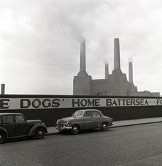 La central de Battersea. Frederick Wilfred