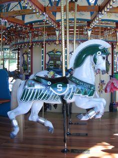 Michigan state horse