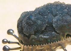 Chrysocolla Drusy Pendant