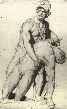 Cast drawing by Ingres. Male Figure Drawing, Figure Sketching, Guy Drawing, Life Drawing, Drawing People, Painting & Drawing, Art Masculin, Art D'ours, Rennaissance Art