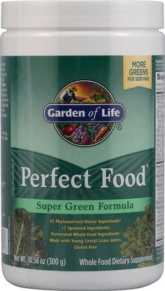 The #1 selling greens food! Garden of Life Perfect Food®