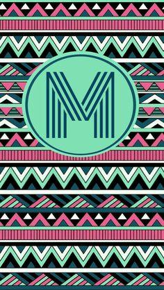 1000 ideas about monogram wallpaper on pinterest