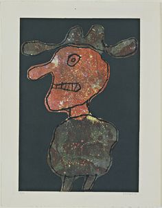 Person in a Hat (Personnage au chapeau). 1962 Jean Dubuffet 5a197b27577
