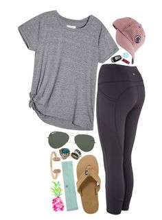 """we don't have to go out~"" by marinampetrillo ❤ liked on Polyvore featuring Ray-Ban, Vineyard Vines, WALL, Southern Proper, Miss Selfridge and Kendra Scott"