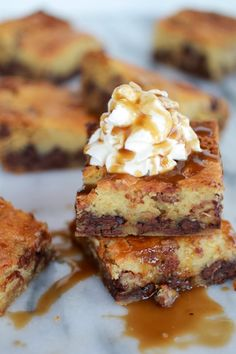 Kentucky Derby Pie Chocolate Chip Cookie Bars. Ummm, there is almost a pound of butter in this recipe! I'm totally in!