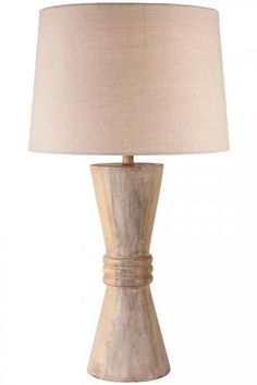 Cybell Table Lamp - Wood Table Lamp - Rustic Table Lamps - Unique Table Lamps | HomeDecorators.com