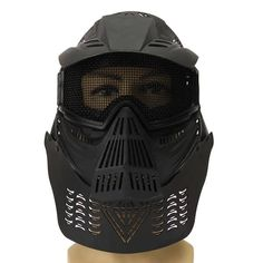 Biker Full Mask Paintball Tactical CS Airsoft Face Protection Guard  Worldwide delivery. Original best quality product for 70% of it's real price. Buying this product is extra profitable, because we have good production source. 1 day products dispatch from warehouse. Fast & reliable...