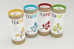 Originelle Tee-Verpackungen